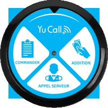 icône boitier d'appel restauration yucall